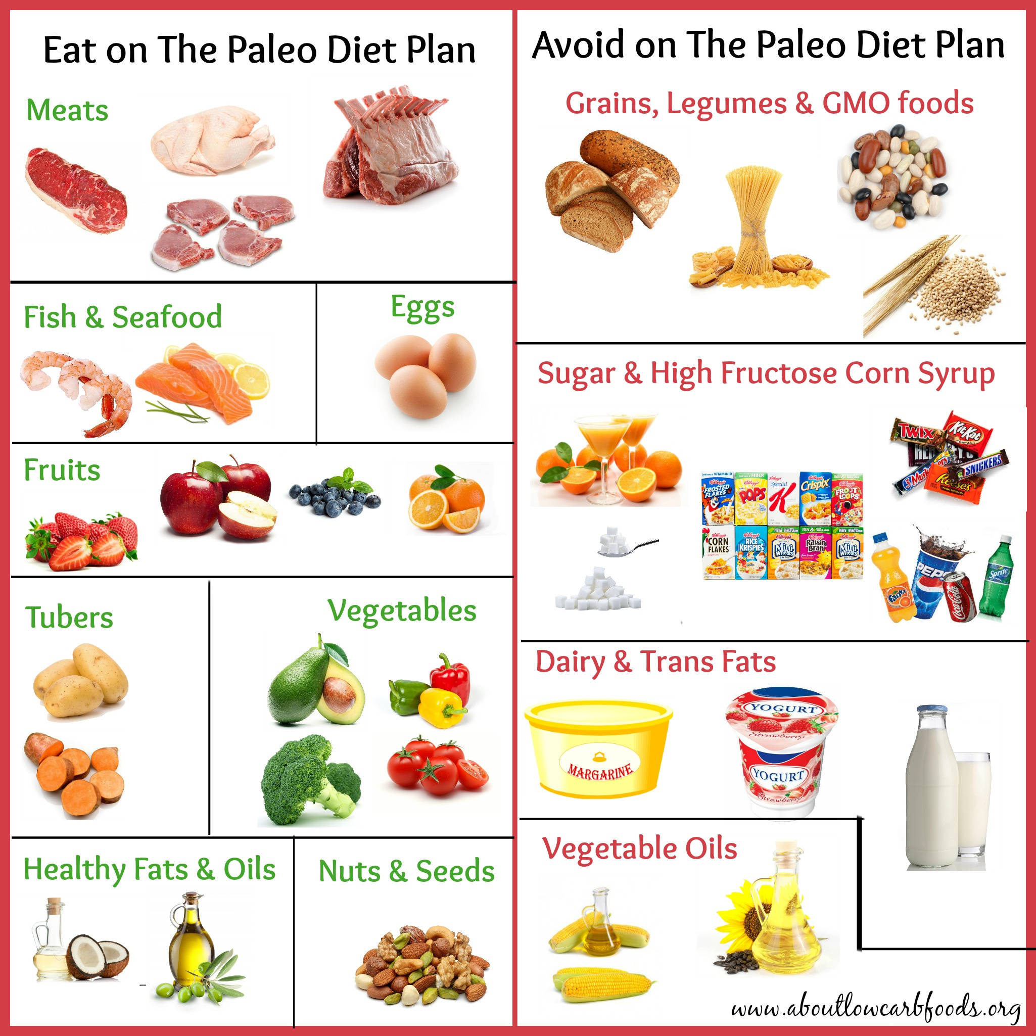 A Paleo Diet Plan That Can Save Your Life - About Low Carb Foods
